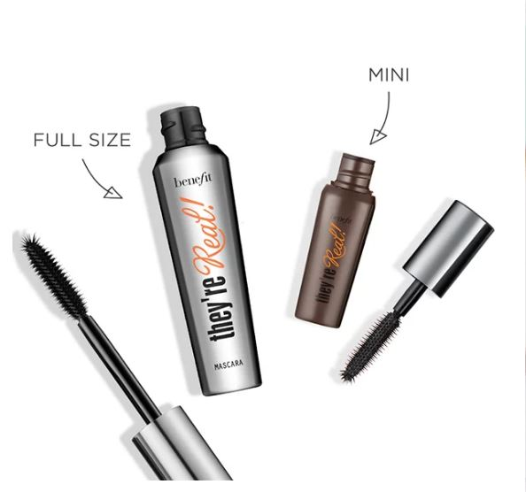 Benefit Cosmetics They are real mascara Reveiw and Swatches India3
