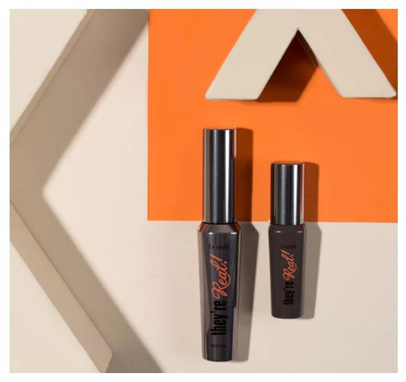 Benefit Cosmetics They're Real Mascara Reveiw and Swatches India3