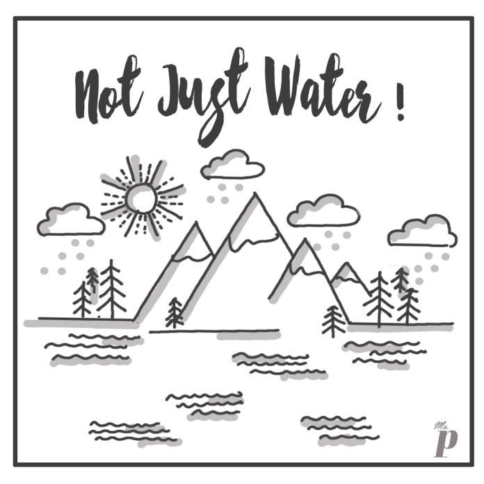 not just water