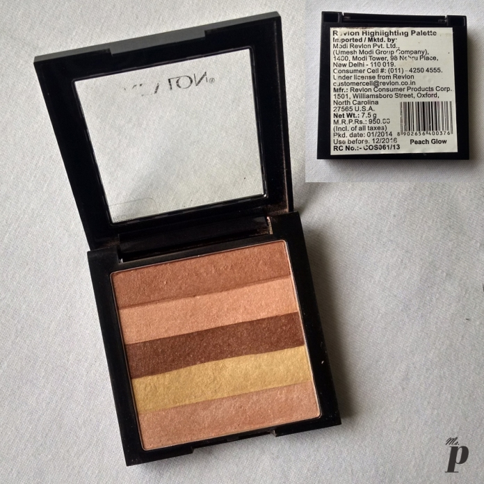 Revlon Highlighting Palette : Peach Glow