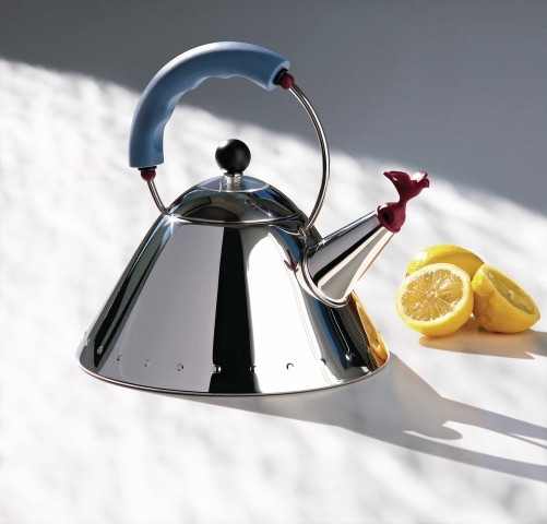Alessi 9093 Kettle, Designed my Micheal Greaves