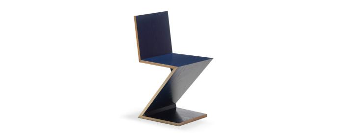 The Zig Zag Chair by Gerrit Reitweld.