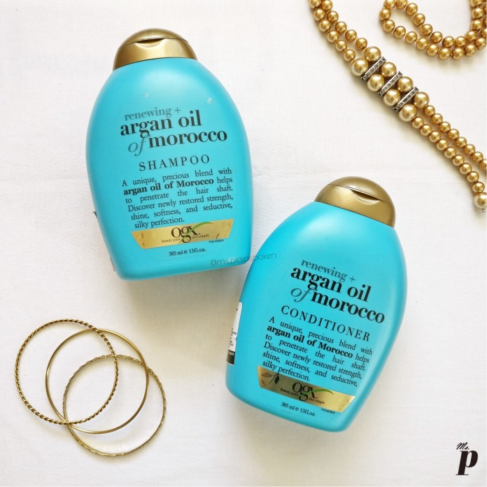 OGX | Argan Oil of Morroco Shampoo and Conditioner- Review