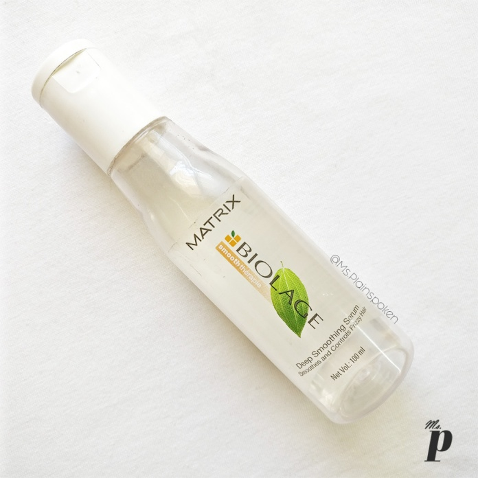 Matrix Biolage Deep Smoothening Serum Review