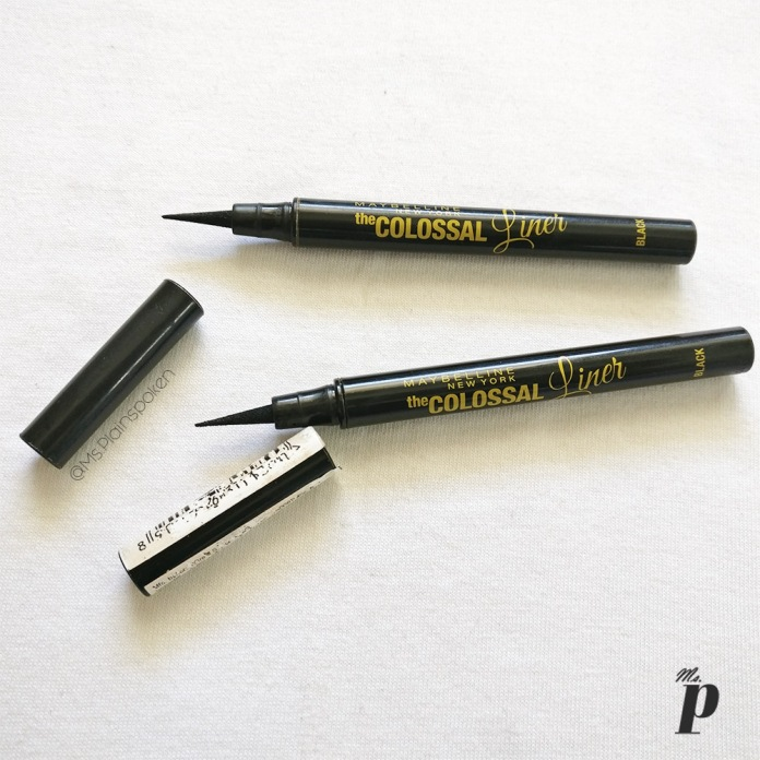Maybelline Colossal Liner Review and Swatches2