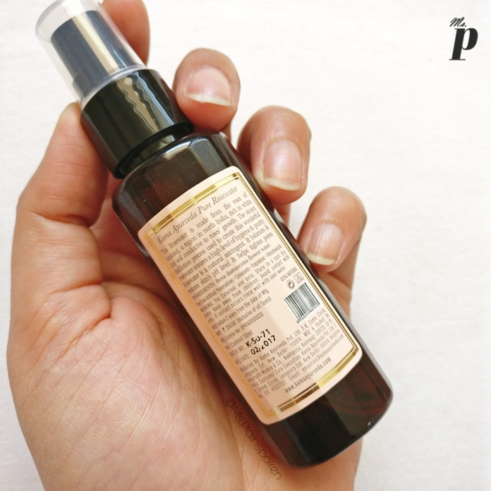 Kama Ayurveda Pure Rose Water Face & Body Mist Review and How to recognize Pure Rose Water