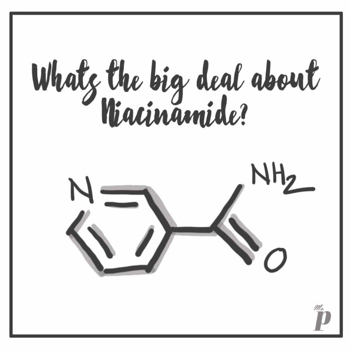 why Niacinamide is claimed to be the ultimate skincare ingredient.