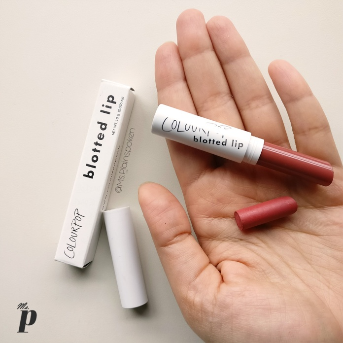 Colourpop Blotted Lip Drip Review and swatches on indian skin Colourpop Haul, Review and Swatches on Indian Skin, Colourpop Purchase Experience and Custom Duty while Shipping cosmetics from USA to India