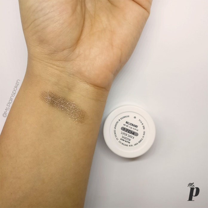 Colourpop Super Shock Shadow Nillionaire Review and swatches on Indian skin Colourpop Haul, Colourpop Purchase Experience and Custom Duty while Shipping cosmetics from USA to India