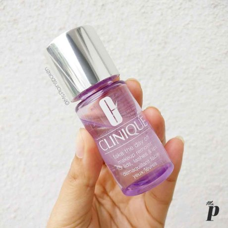 Clinique: Take the day off - Makeup remover for lids, lashes and lips.