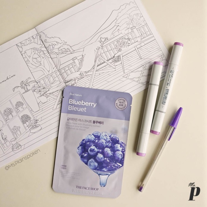 The Face Shop | Real Nature Face Mask - Blueberry | How to use sheet masks correctly , Ten things you need to know about Sheet Masks