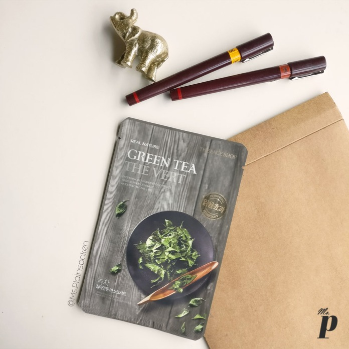 The Face Shop | Real Nature Face Mask - Green Tea | How to use sheet masks correctly , Ten things you need to know about Sheet Masks