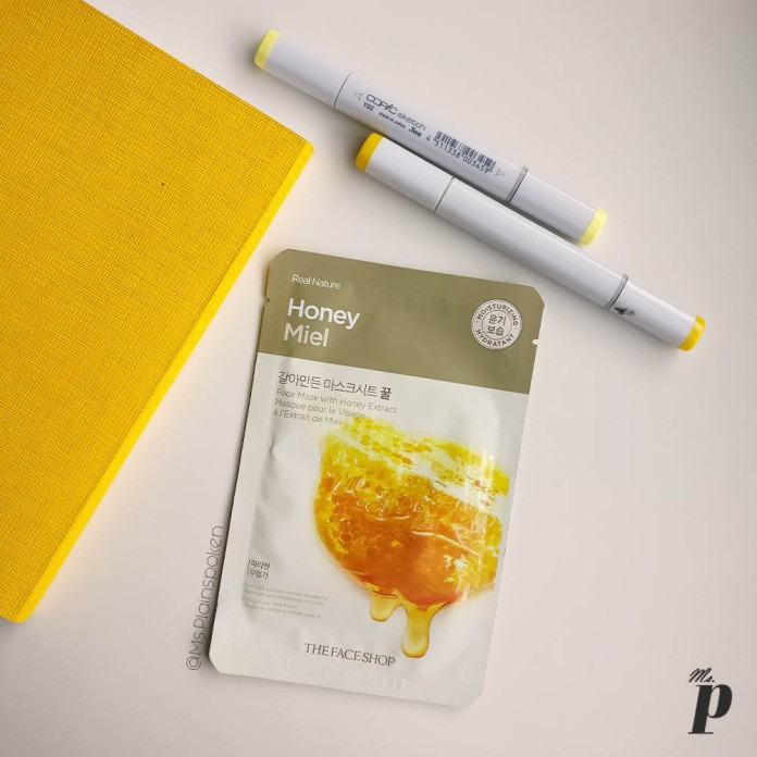 The Face Shop | Real Nature Face Mask - Honey | How to use sheet masks correctly , Ten things you need to know about Sheet Masks