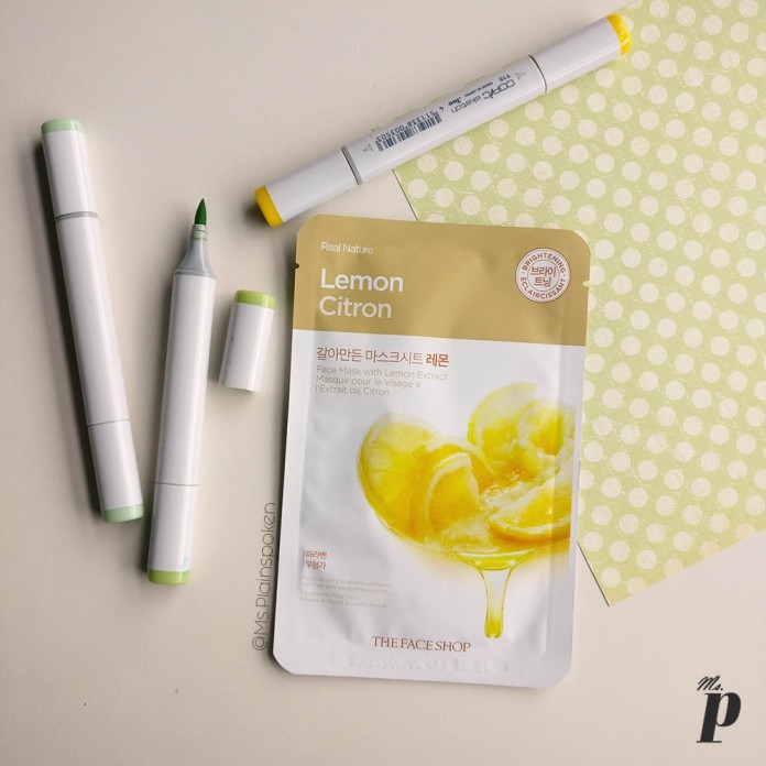 The Face Shop | Real Nature Face Mask - Lemon | How to use sheet masks correctly , Ten things you need to know about Sheet Masks
