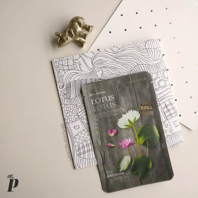 The Face Shop | Real Nature Face Mask - Lotus | How to use sheet masks correctly , Ten things you need to know about Sheet Masks