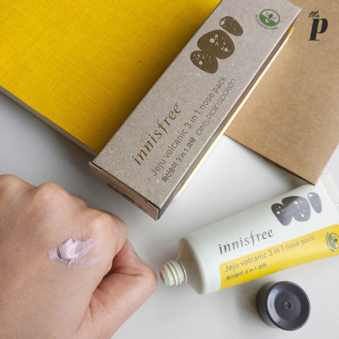 Innisfree: Jeju Volcanic 3 in 1 nose pack | Consistency - Right out of the Tube | Review & Tested on Indian Skin