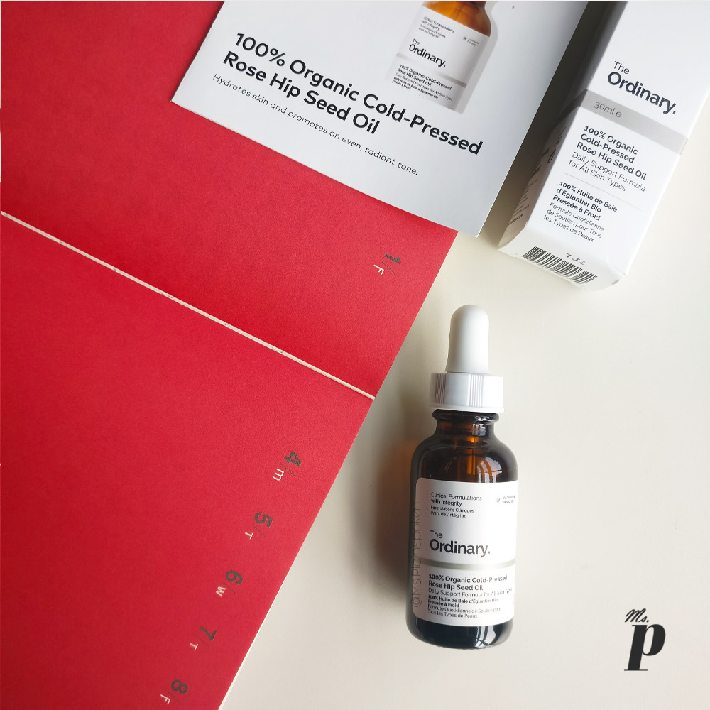 The Ordinary: 100% Organic Cold-Pressed Rose Hip Seed Oil_ review _ India