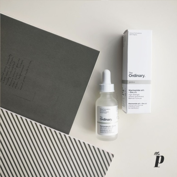 The Ordinary- Niacinamide 10% + Zinc 1% Review India