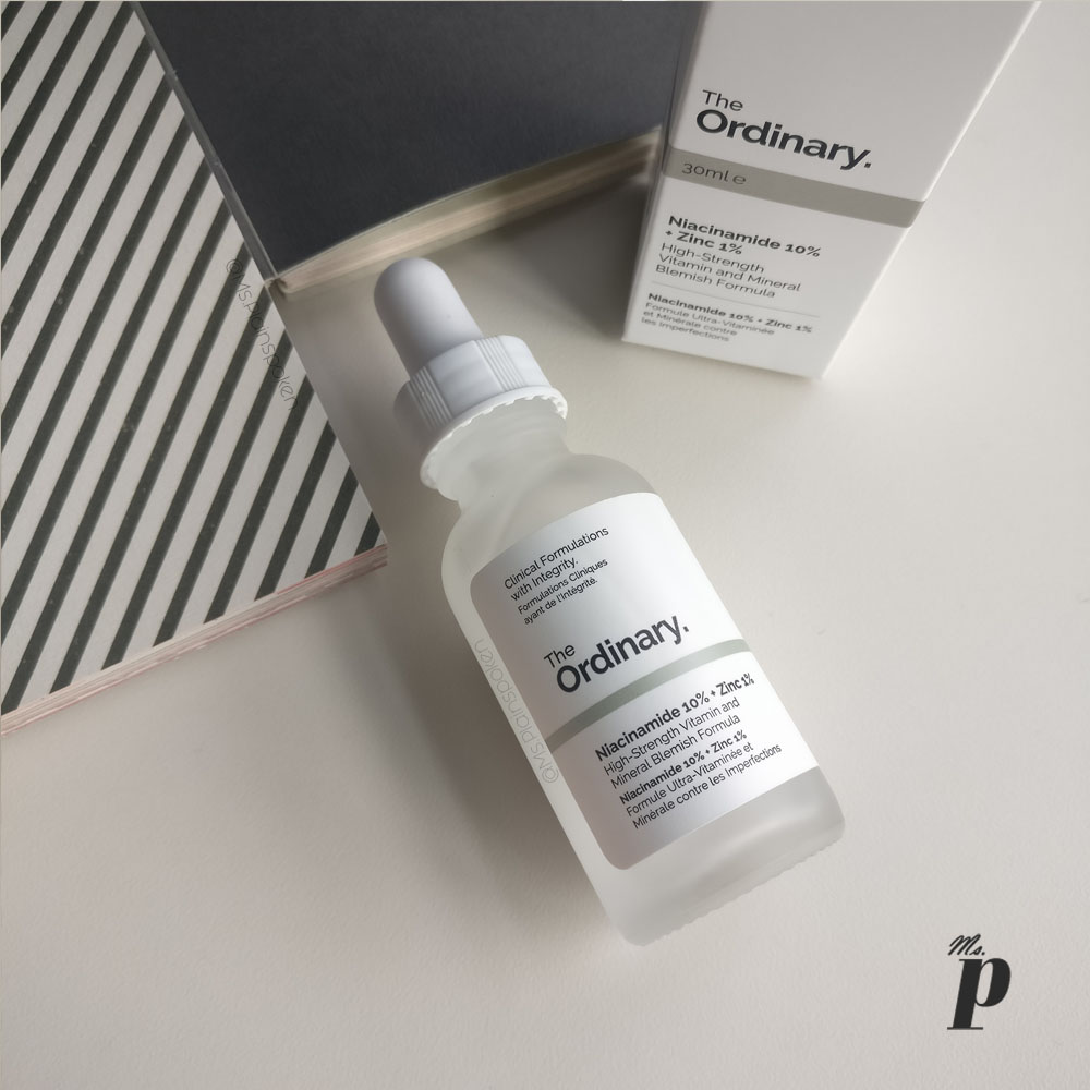 The Ordinary- Niacinamide 10% + Zinc 1%   High Strength Vitamin and Mineral Blemish Formula_ Review_ India _Ingredients_ Packaging_ Application_Consistency _Skincare