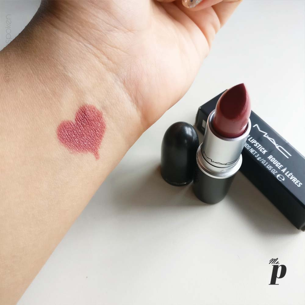 Mac Creme In Your Coffee Cremesheen Lipstickswatched Ms