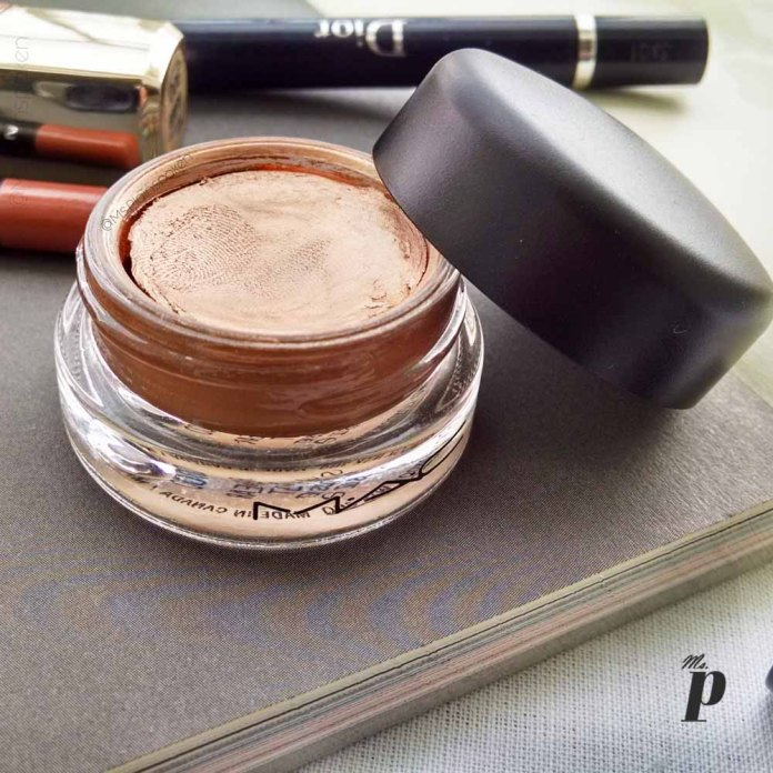 MAC Pro Longwear Paint Pot Shade Indianwood Eyeshadow Review Swatches india