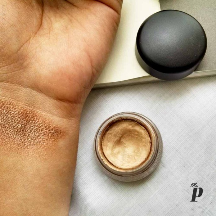 MAC Pro Longwear Paint Pot Shade Indianwood Eyeshadow Review Swatches3