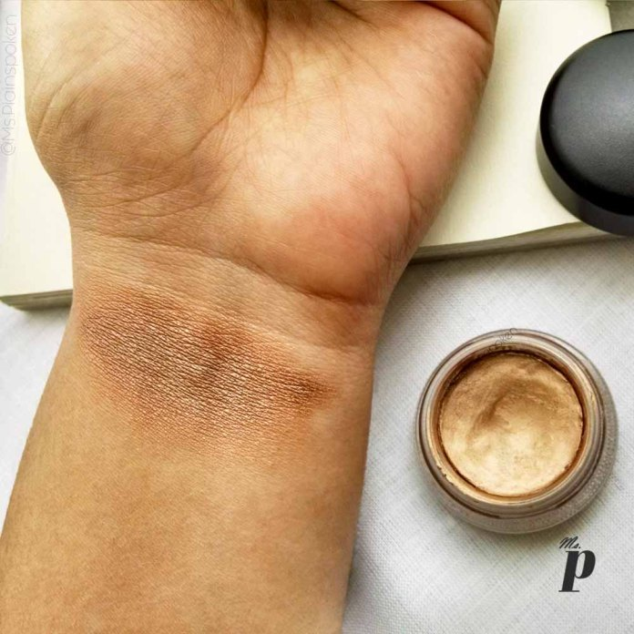 MAC Pro Longwear Paint Pot Shade Indianwood Eyeshadow Review Swatches4