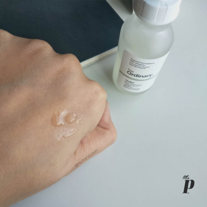 The Ordinary: Buffet - Multi technology Peptide serum Review Ingredients Appearance Consistency