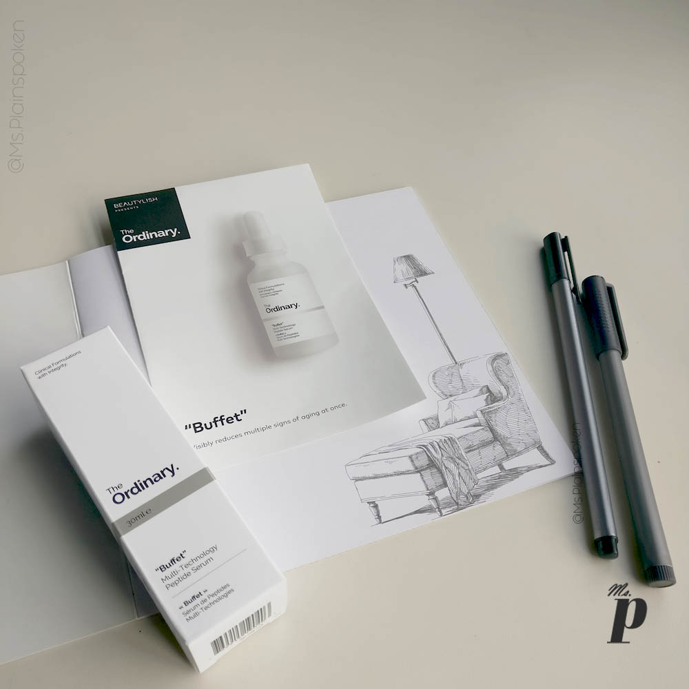 The Ordinary: Buffet - Multi Technology Peptide Serum Review ingredient breakdown efficacy