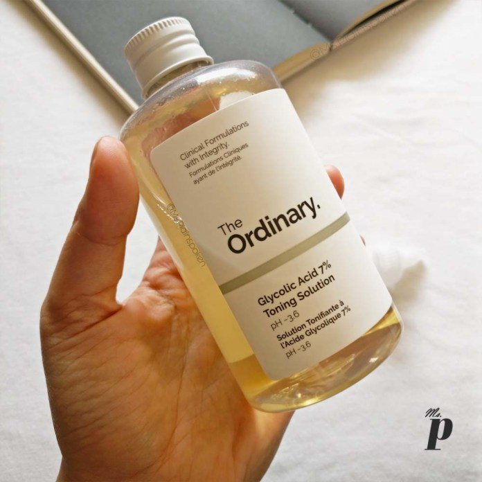 The Ordinary Glycolic acid 7 percent toning solution review india bottle size value for money