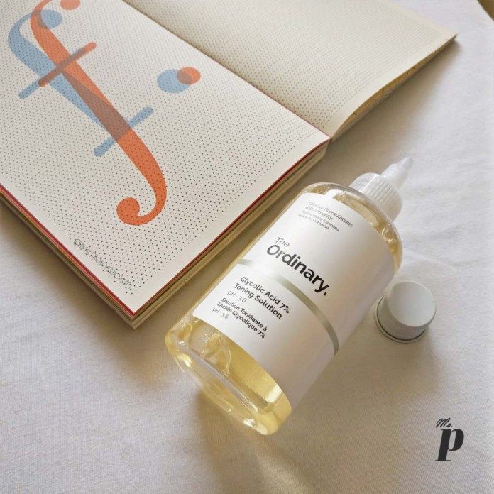 The Ordinary Glycolic acid 7 percent toning solution review india2
