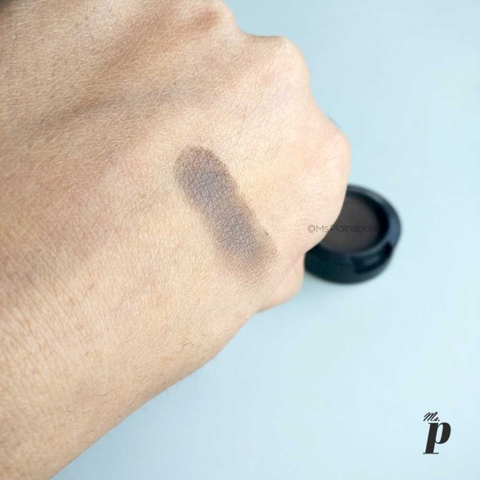 MAC Satin Eye Shadow - Brun Review and swatches on Indian skin (7)