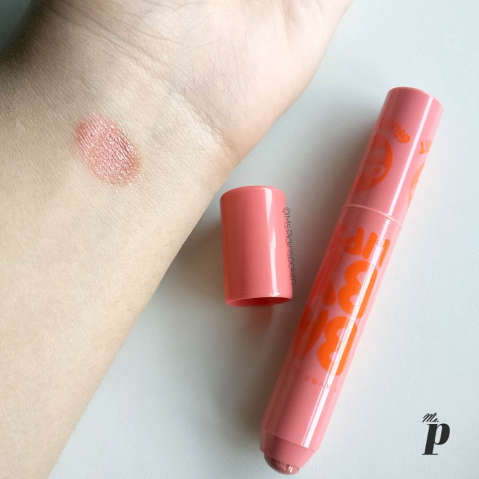 Maybelline Baby Lips Candy Wow Grape Fruit Review Swatch India3