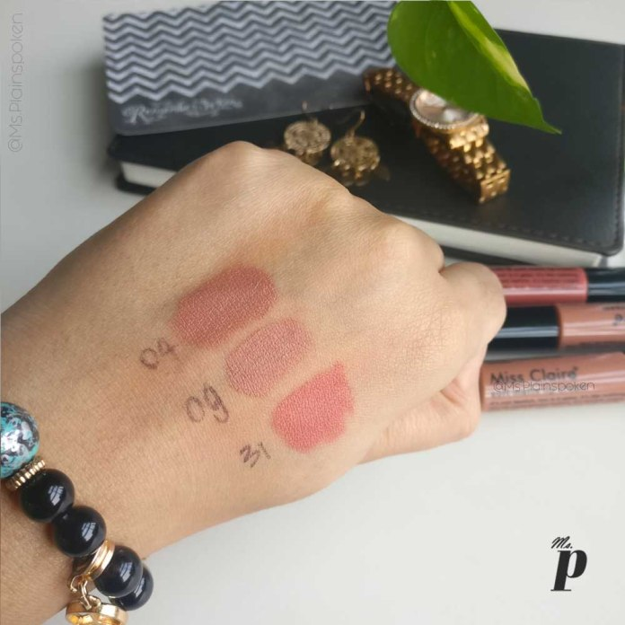 miss-claire-soft-matte-lip-cream-shades-09-31-04-review-swatches-are-they-safe-ingredient-analysis (5)
