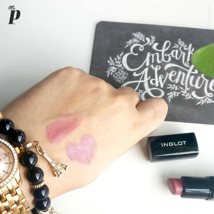 inglot-lipstick-145-review-swatches-on indian skin-Quantity, Packaging & Shelf Life