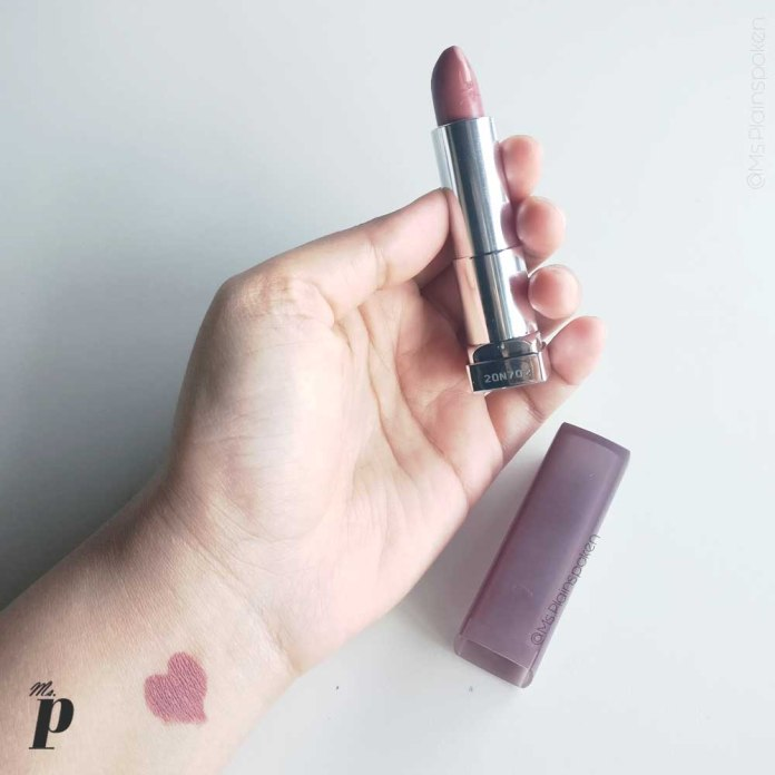 Maybelline: Color Sensational Creamy Matte Lip Color   Nude Nuance Swatches & Review