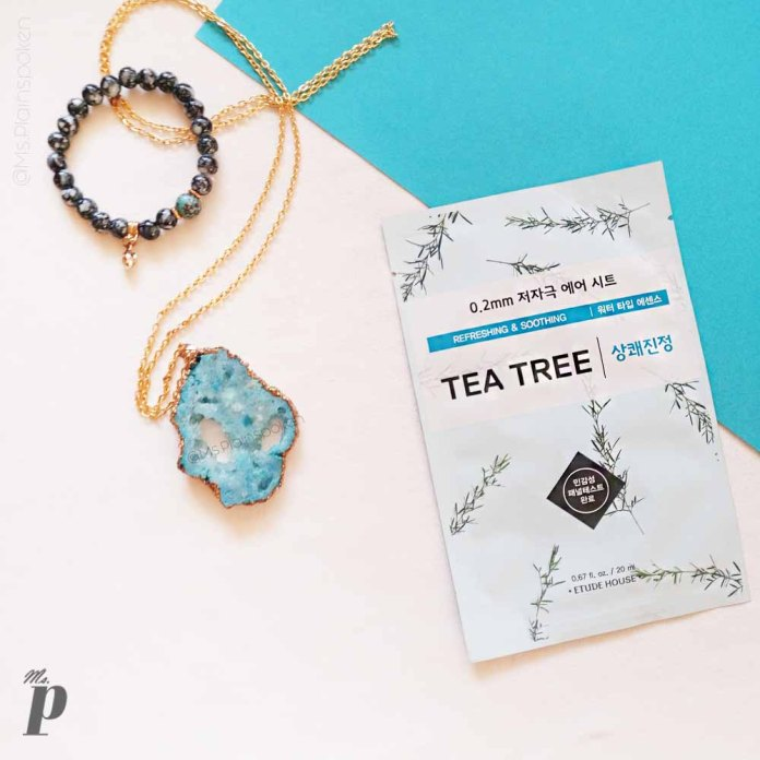 Etude House 0.2 Tea Tree Therapy Air Sheet Mask Review India