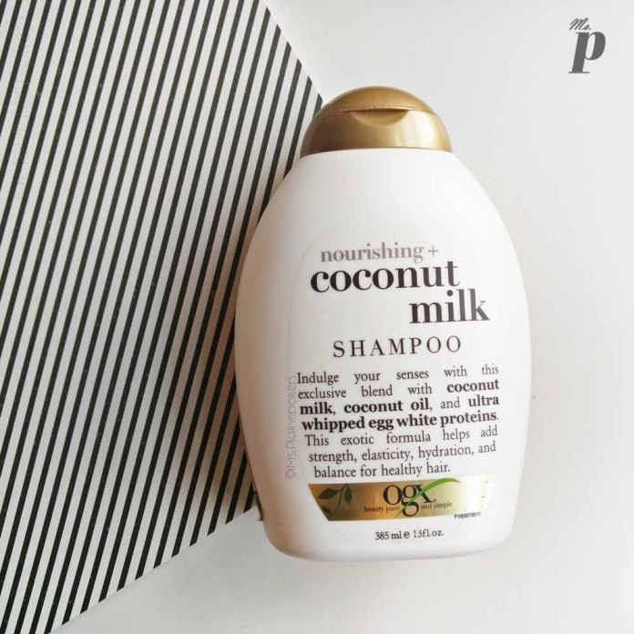 OGX: Nourishing Coconut Milk Shampoo Review & Ingredient Analysis