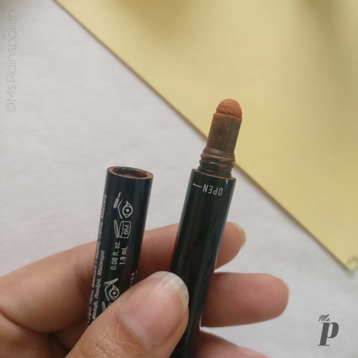 NYX 3 in 1 Brow Pencil Review Swatches of shade 31B05 Auburn Brun Rouge1 (3)