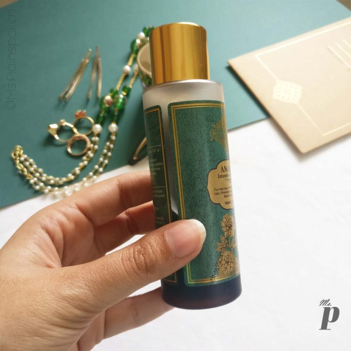 Royal Indulgence: Amaira Intensive Hair Oil | Quantity