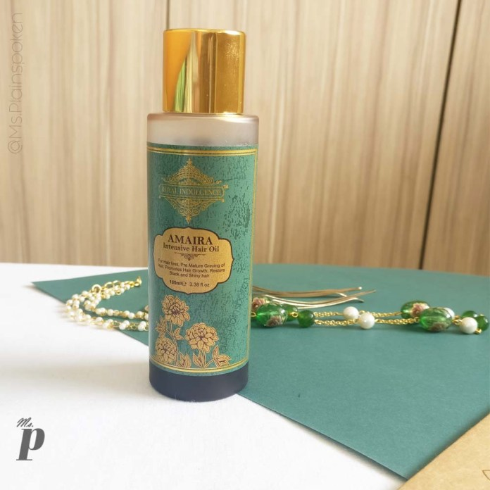 Royal Indulgence: Amaira Hair Oil Review | Final Thoughts