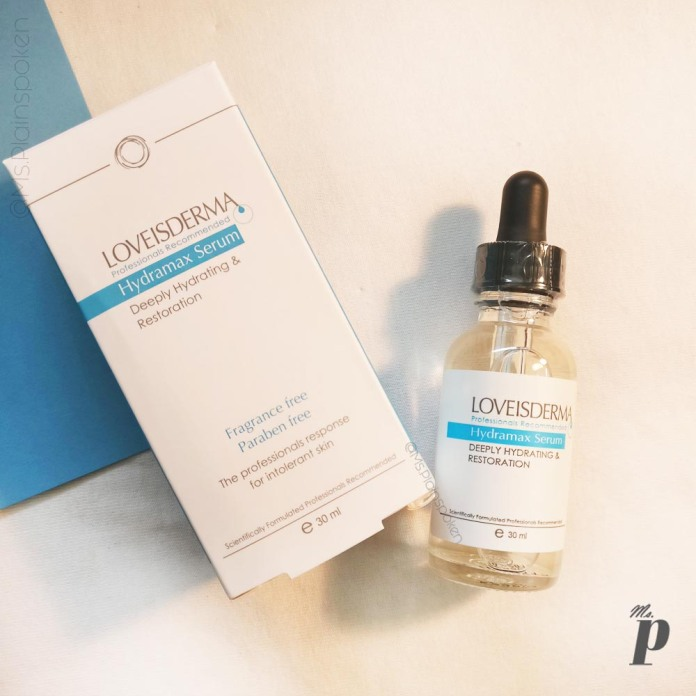 Loveisderma Hydramax Serum Review