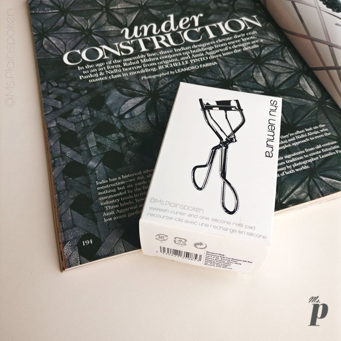 Shu Uemura Iconic Eye Lash Curler Review India