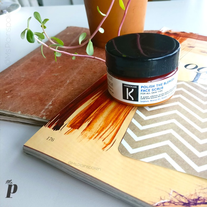 Kronokare Polish the Blemish Face Scrub- Review