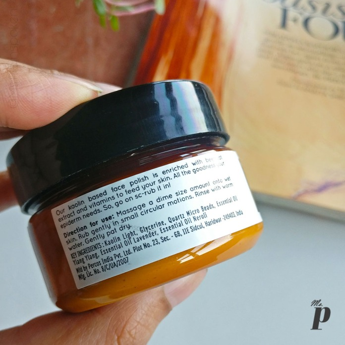 Kronokare Polish the Blemish Face Scrub Review _ Ingredients , Manufacturing and Directions of Use(3)