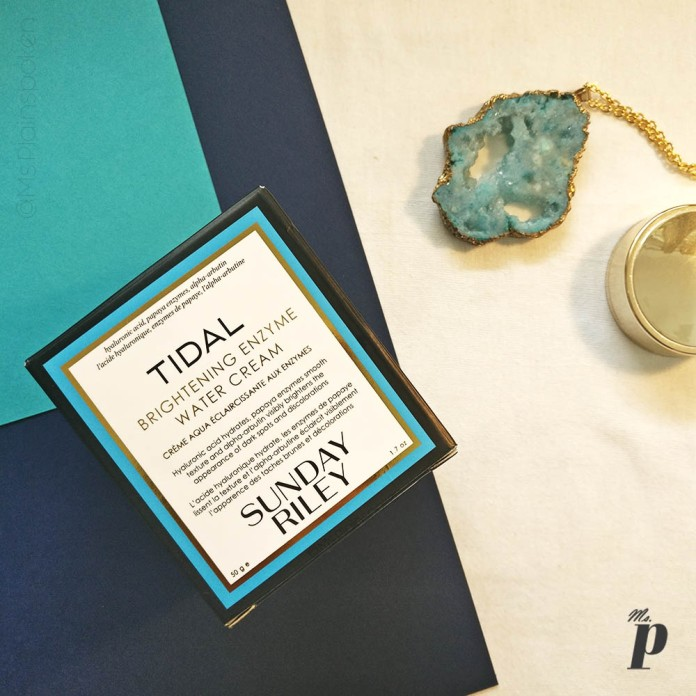 Sunday Riley: Tidal- Brightening Enzyme Water Cream | Will it work for you