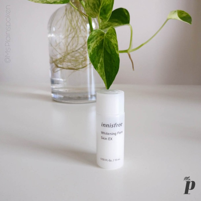 Innisfree Whitening Pore Skin EX Toner Review