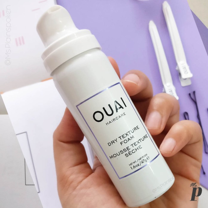 Ouai Haircare Dry Texture Foam Review_ Branding and Packaging