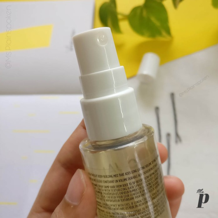 Ouai Haircare volume spray review_ packaging