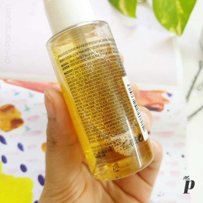 Ouai Wave Spray Review_ ingredients and claims